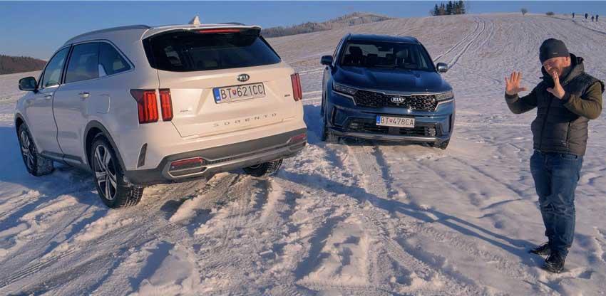 Test: Kia Sorento 2,2 CRDi 4WD vs 1,6 T-GDi HYBRID 4WD