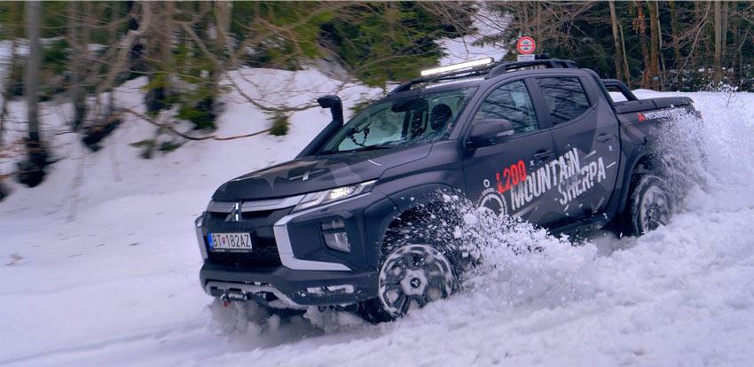 "Test: Mitsubishi L200 4WD ""Mountain Sherpa"""