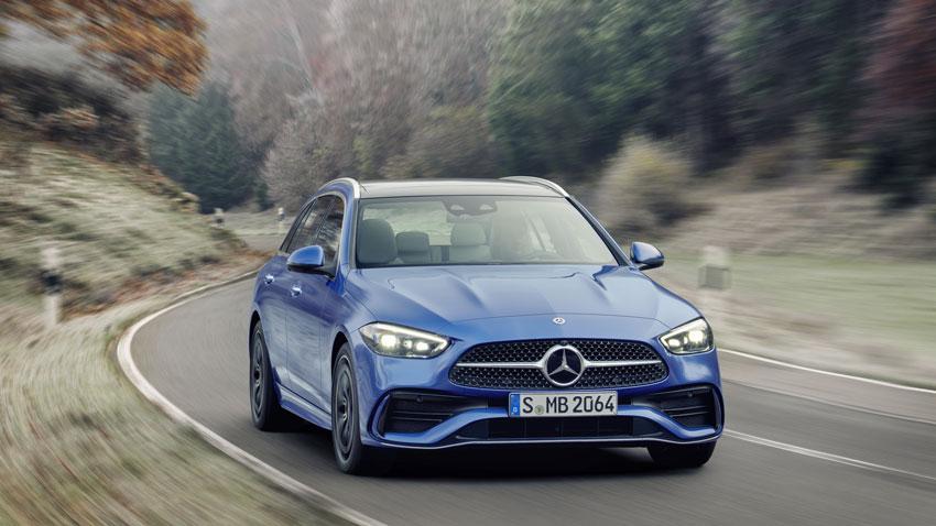 Mercedes C sa spoľahne len na štvorvalce. Hybrid prejde na elektrinu až 100 km