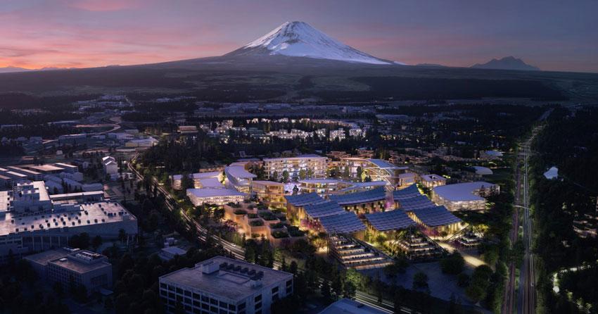 Toyota začala s výstavbou mesta budúcnosti Woven City