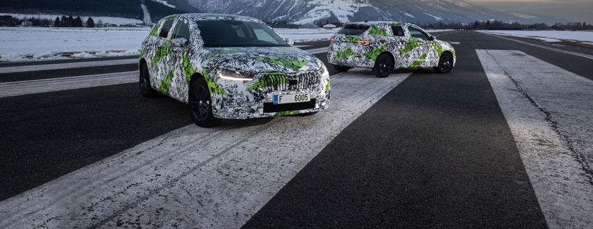 Nová Škoda Fabia sa ukazuje na fotkách, dostane výlučne benzínové motory