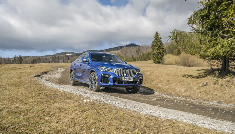 Test: BMW X6 so základným motorom? Viac ani netreba
