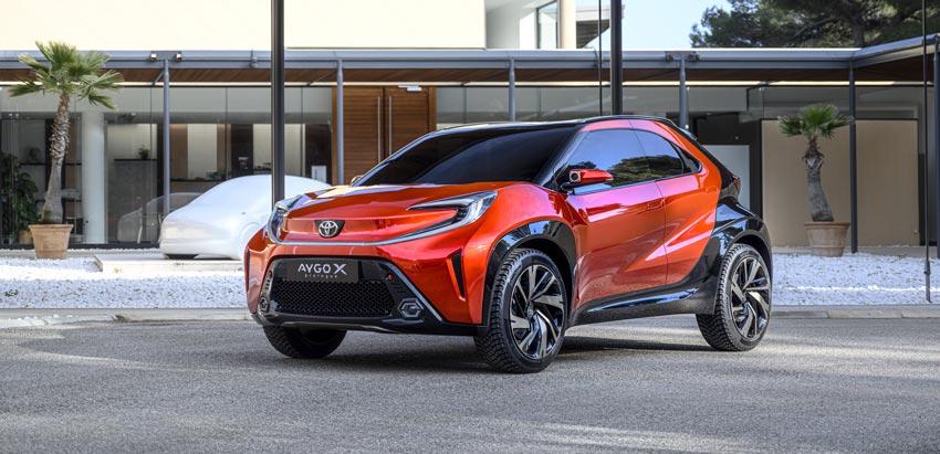 Toyota Aygo sa ukázala ako malý drsný crossover