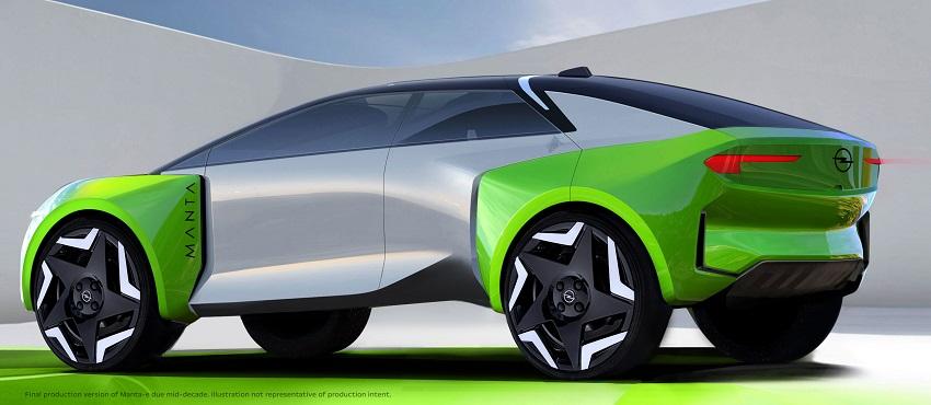 Elektrický Opel Manta sa stane realitou