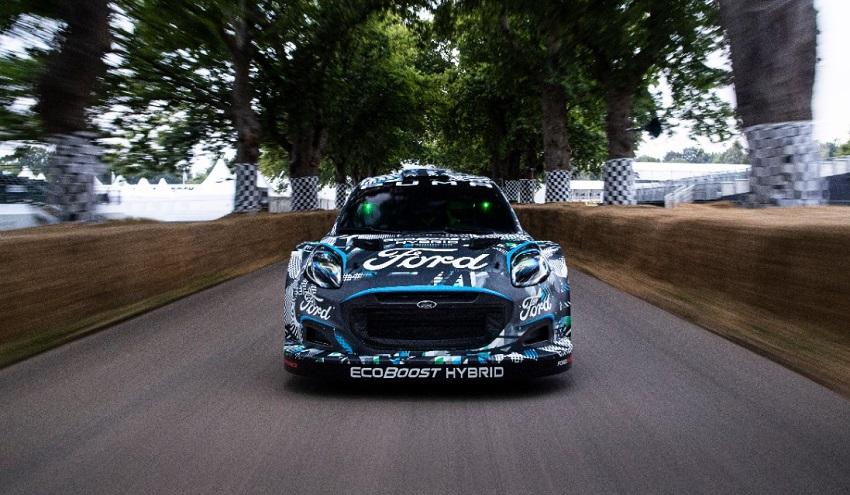 M-Sport predstavil nový hybridný model Puma Rally1 WRC