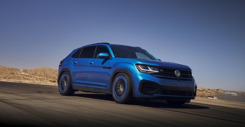 Volkswagen Atlas Cross Sport GT Concept dostal motor z Golfu R