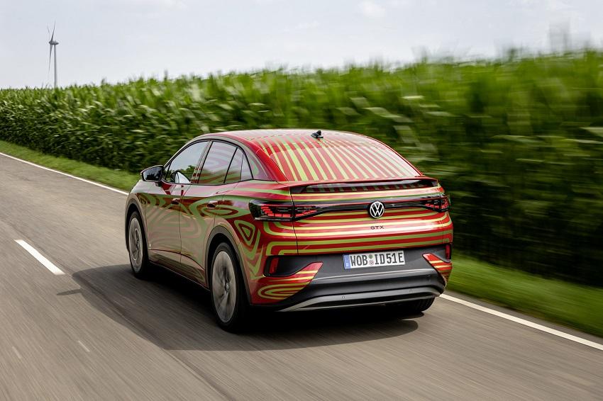 Volkswagen predstaví SUV coupé ID.5 GTX v septembri