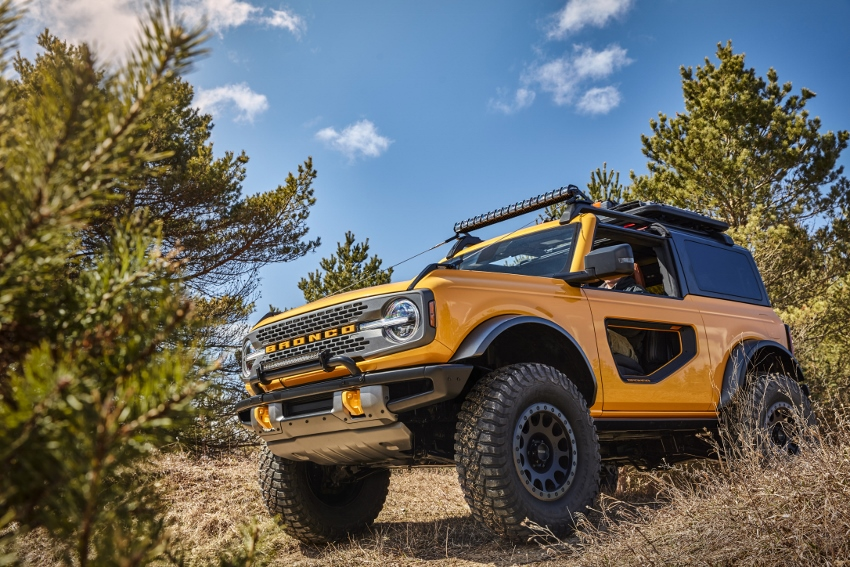 Ford uvažuje nad predajom nového Bronca v Európe