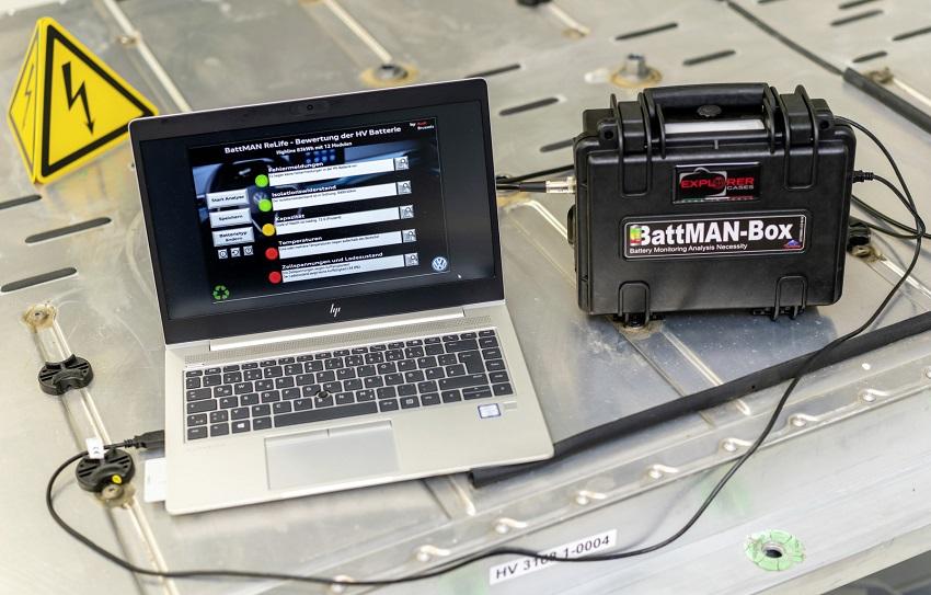 Ďalšie využitie alebo recyklácia? O budúcnosti batérie rozhoduje BattMan