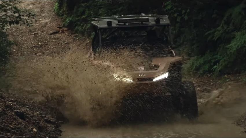 Lexus ukázal malú vodíkovú štvorkolku ROV