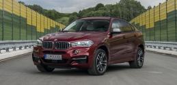 Test: BMW X6 M50d ukázalo naftové svaly, dopované troma turbami
