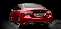 Mercedes spravil z triedy A natiahnutý sedan